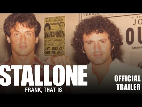 Stallone: Frank, That Is (Trailer)