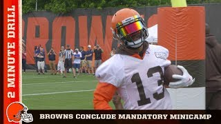 Browns conclude Mandatory Minicamp | 2 Minute Drill