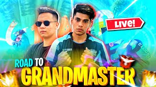 Road To GRANDMASTER RANK PUSHING  With TONDE GAMER and X- MANIA ❤️🔥 ,For Top 1 FREE FIRE  LIVE !!