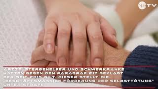 Passive Sterbehilfe künftig in Deutschland erlaubt!