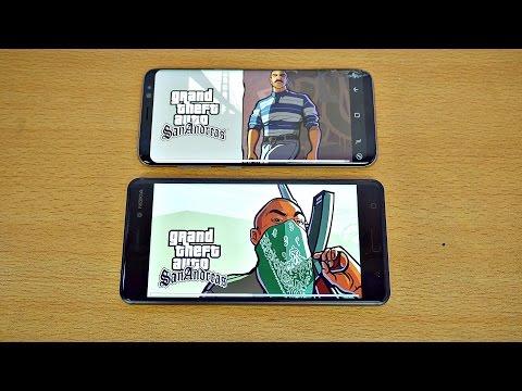 Samsung Galaxy S8 vs NOKIA 6 - Gaming Comparison! (4K)