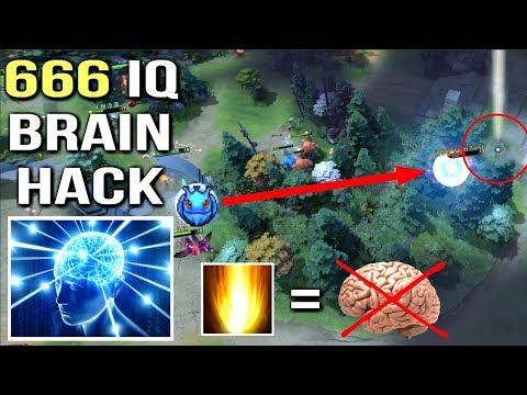 OMFG WTF IS THIS SunStrike Brain Hack vs Puck by SumiYa Best Invoker Gameplay Crazy Combo Dota 2