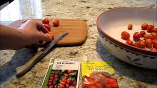 Grow from seed: Juliet are one of the best tomatoes!.wmv