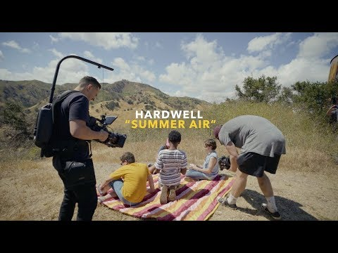 "Hardwell  ""Summer Air""  Behind The Scenes Music Video"