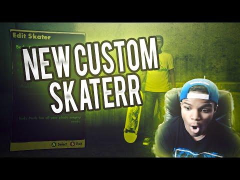 SKATE 3 - SICK NEW CUSTOM SKATER!