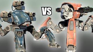 Fujin (Tarans) vs Raijin (Thunders) - AnakinTEST #5   War Robots