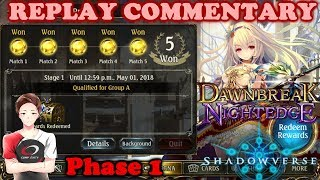 OTK Roach In Grand Prix! | GP Unlimited Phase 1 | Deck + Replay Commentary【Shadowverse】