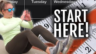 How To Start Running When You're Overweight | Sample Week!