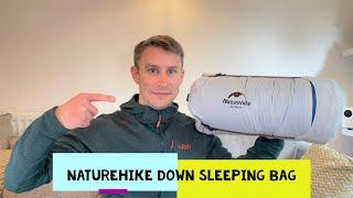 Naturehike CWM 400 Goose Down Sleeping Bag - The BEST Budget Down Sleeping Bag?