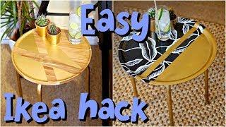 DIY Ikea Hack Side Tables