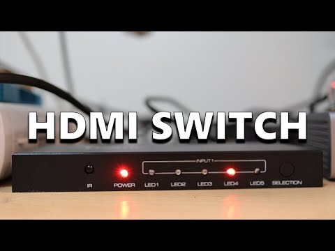 AmazonBasics 4K HDMI Switch  - An Affordable HDMI Switch For 5 Devices