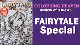 Review Of Colouring Heaven FAIRYTALE Special By Hannah Lynn