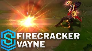 Firecracker Vayne Skin Spotlight - League of Legends