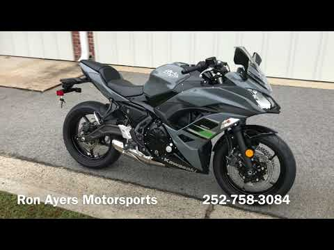 2018 Kawasaki Ninja 650 in Greenville, North Carolina - Video 1