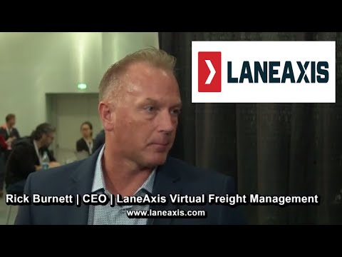 LaneAxis | CEO Rick Burnett | Virtual Freight Management | Crypto Invest Summit
