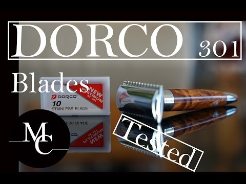 The Dorco 301 razor blade review in HD