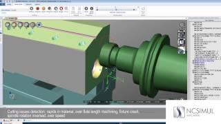 NCSIMUL Machine | Features | CNC Machine Simulation