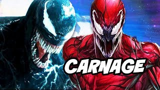 Venom Trilogy Confirmed and Carnage Scenes Revealed