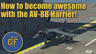 DCS - AV8B - become awesome with the Harrier