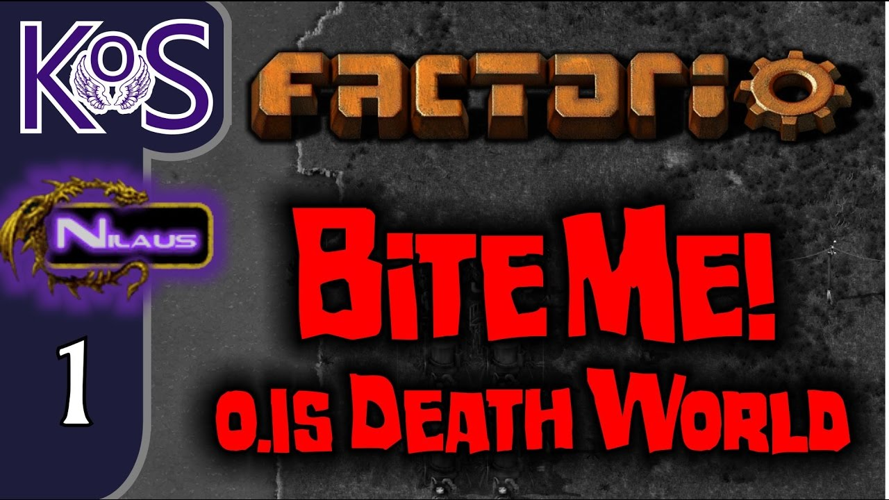 Factorio 0 15 Bite Me! Ep 1: HOW DANGEROUS IS THIS SETTING??? - Death World  COOP MP Gameplay - vTomb