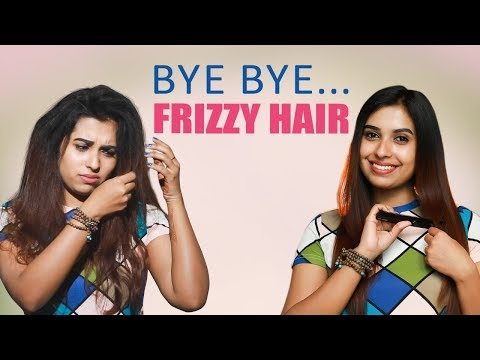 2 Tips to get silk & Smooth hair | Frizzy Hair tips