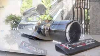 Knalpot Mobil Brexx Silent VS-Power Orion Carbon Kevlar (S-VSOR-CK 01)