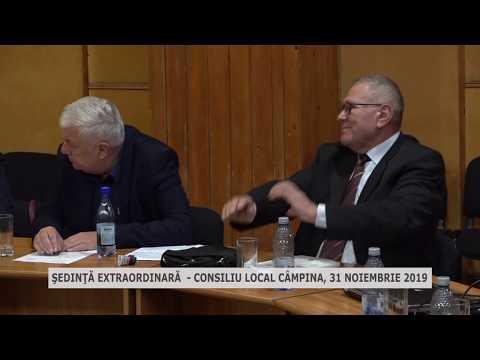 Şedinţa extraordinară CL Câmpina 31oct 2019