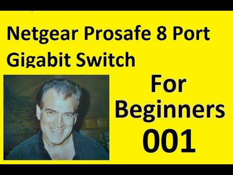 Installing a Netgear Prosafe 8 Port Gigabit Switch with a Motorola Router SBG6580 and Modem