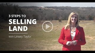 Linsey Taylor: How To Sell Land