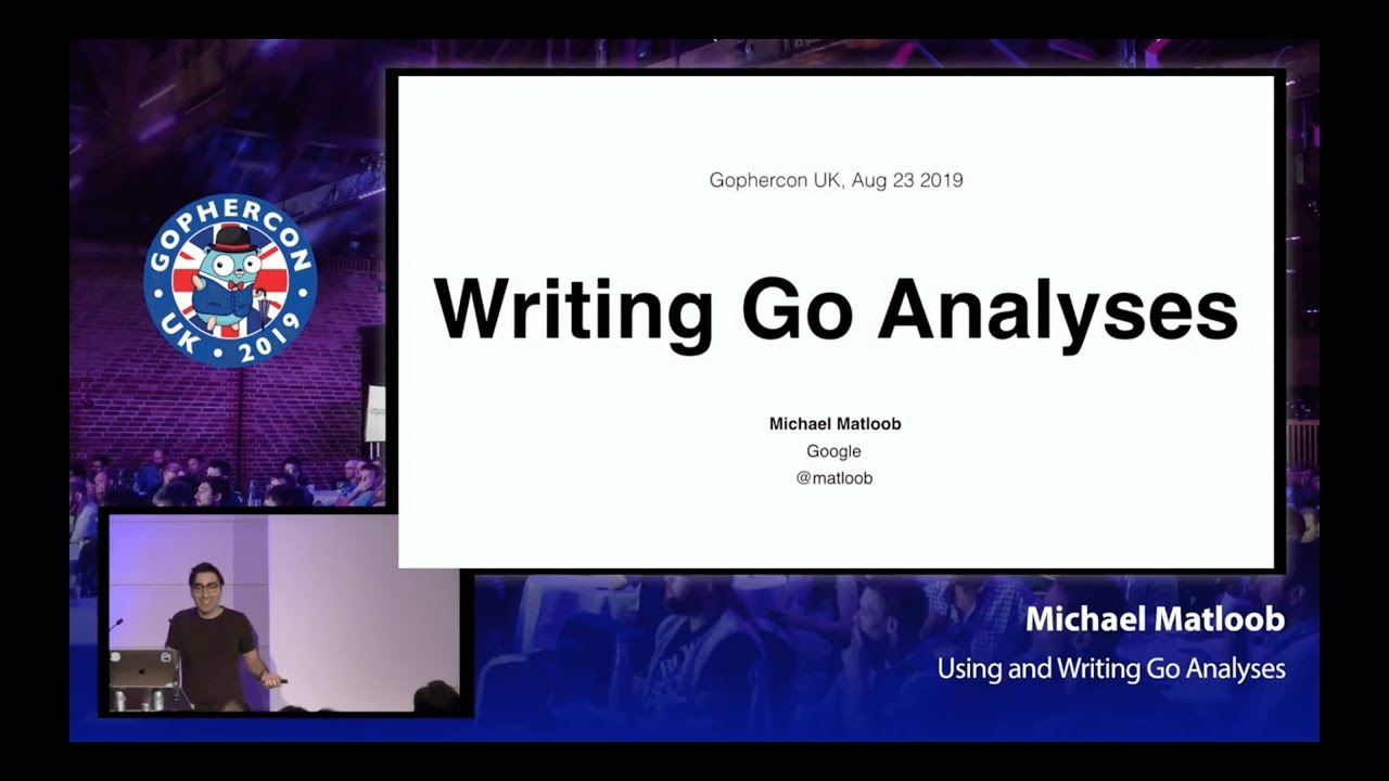 Using and Writing Go Analyses