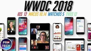 WWDC 2018 за 8 минут на русском! Главное об iOS 12, macOS 10.14, watchOS 5 и tvOS 12