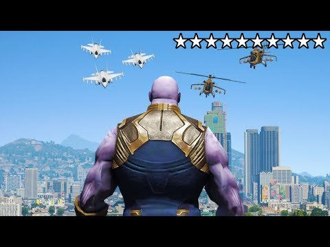 DOWNLOAD: PLAYING As THANOS In GTA 5! (Mods) Mp4, 3Gp & HD