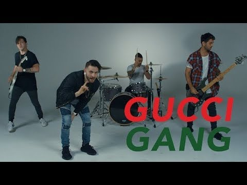Gucci Gang - Lil Pump (Fame On Fire Rock Cover) Trap Goes Punk
