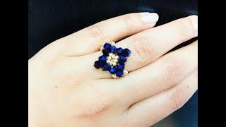 DIY Beaded Ring 💞.Super Easy Tutorial