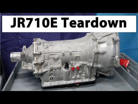 Фото к видео: JATCO JR710E Transmission Disassembly