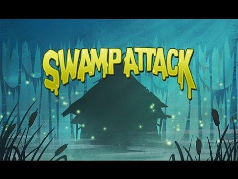 Swamp Attack - полное прохождение Третьего эпизода [iPad/HD]