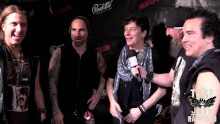 Eric Martin of Mr. Big with Trixter- Live Interview at RockFest 80's