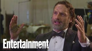 Andrew Lincoln: Jon Bernthal Was Terrified On First Day Of The Walking Dead | Entertainment Weekly