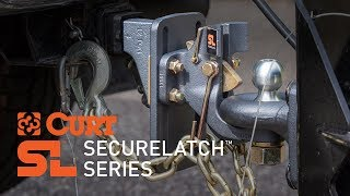 CURT (48406): SecureLatch™ Receiver-Mount Ball and Pintle Hitch