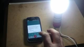 Bluetooth led lamp