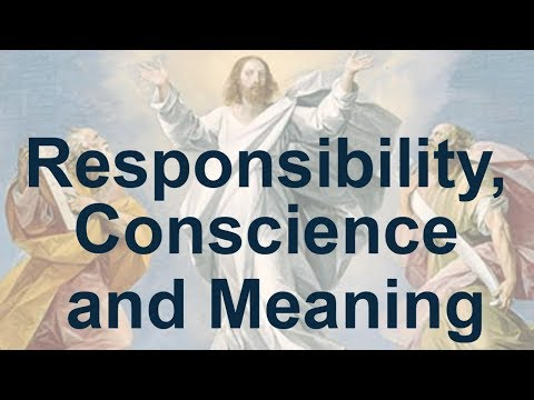 Responsibility, conscience and meaning