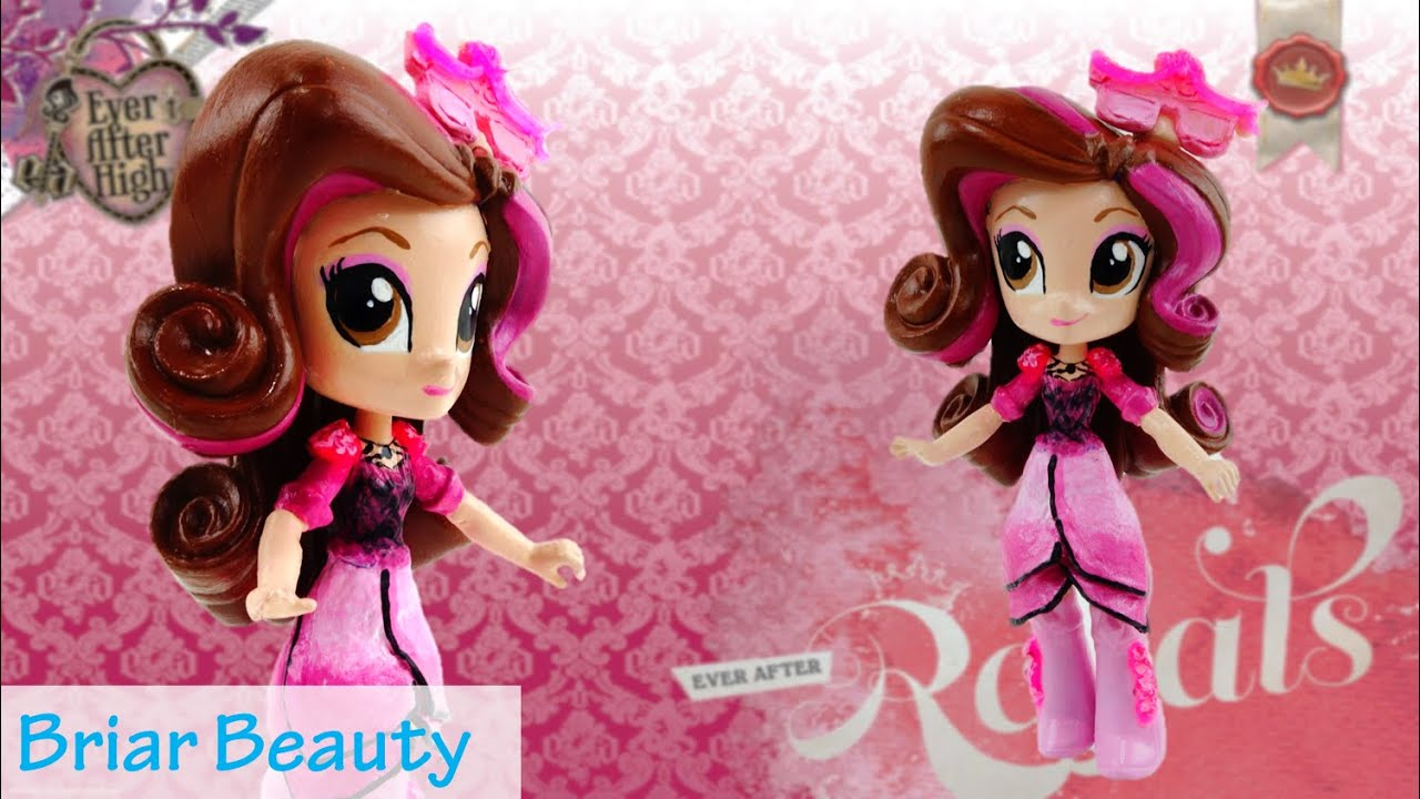New Custom Ever After High Briar Beauty Doll With MLP Equestria Girl Tutorial