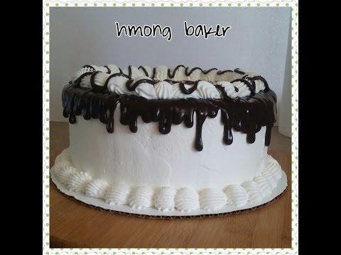 ICE CREAM CAKE. How I make my Ice Cream cake.