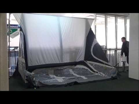 Kampa Fiesta Air Pro 350 Demonstration - Camping International