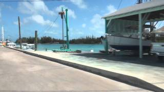 preview picture of video 'Spanish Wells Eleuthera  #4 - SW wharf'