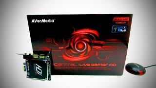 AVerMedia Live Gamer HD Unboxing & Overview (1080p Game Capture)