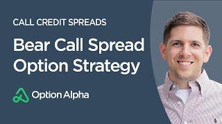 Bear Call Spread Option Strategy