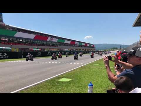 Moto2 Start Domi #77