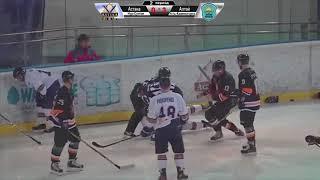 ОЧРК 2019/20. Видеообзор матча ХК «Astana» - ХК «Altay Torpedo», игра №96