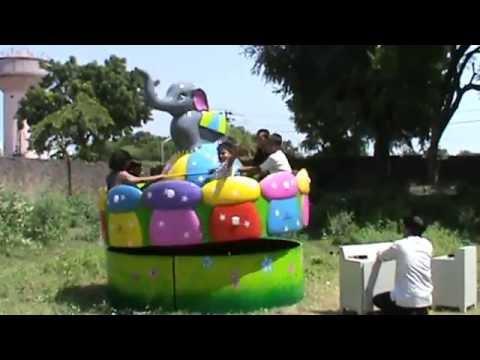 Elephant Circus Fun Amusement Ride